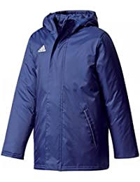 adidas Men's Stadium Jacket Multi-Coloured Dkblue/White