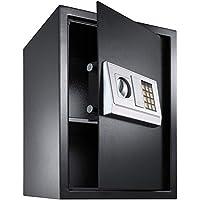 TecTake Caja fuerte electrónica pared safe Caja de Seguridad mini hotel seguro + llave - disponible en diferentes colores - (50x35x34.5cm | No. 400566)