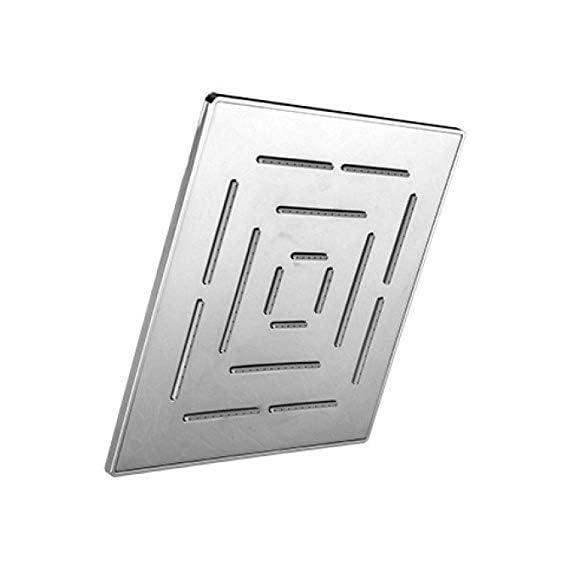 SBD Stainless Steel Square Maze Shower Head 8 X 8 inch,Steel Grade 304,(Series:- Super Heavy)
