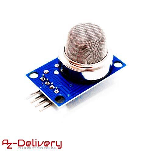 AZDelivery ⭐⭐⭐⭐⭐ MQ-135 Gas Sensor Luftqualität Modul für Arduino mit gratis eBook! -