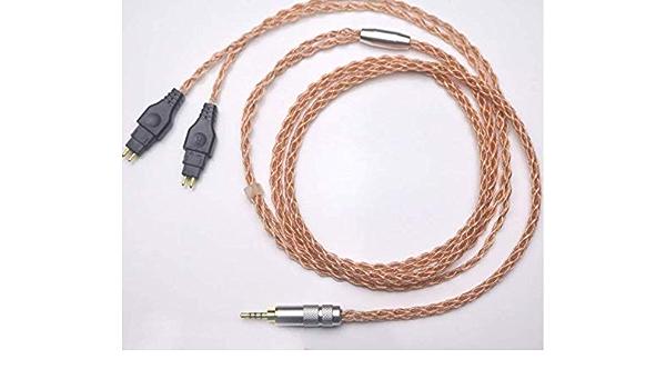 Micity Ersatz Audio Upgrade Kabel Für Sennheiser Hd650 Hd600 Hd580 Hd660s Massdrop Hd6xx Kopfhörer 6n Occ Kabel 2 5 Mm Gewerbe Industrie Wissenschaft
