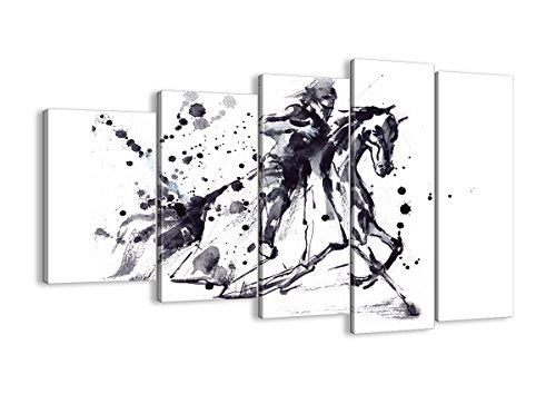 Kostüm Zeitraum Renaissance - Bild auf Leinwand - Leinwandbilder - fünf Teile - Breite: 150cm, Höhe: 100cm - Bildnummer 2985 - fünfteilig - mehrteilig - zum Aufhängen bereit - Bilder - Kunstdruck - EG150x100-2985