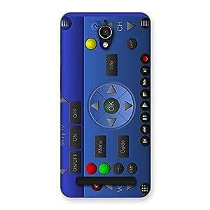 Delighted Super Remote Multicolor Back Case Cover for Zenfone Go