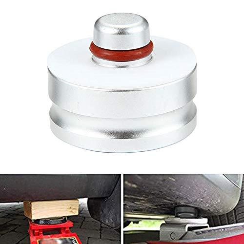 Womdee Tesla Modello 3 Jack Lift Point Pad Adapter, in Lega di Alluminio Cric di Sicurezza di Guida Tesla, Protegge Il cric Auto da Danni e Batteria e Telaio forTesla Model 3 Accessori