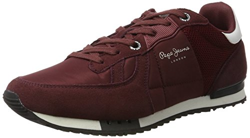 Pepe Jeans Tinker Bold 17, Sneakers Basses Homme, Noir