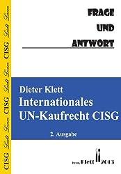 Internationales UN-Kaufrecht Frage und Antwort: Fragenkatalog