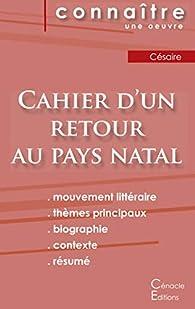 Cahier d'un retour au pays natal : Fiche de lecture par Aimé Césaire