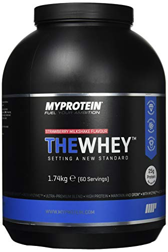 MyProtein THEWHEY - Strawberry Milkshake, 1740 g