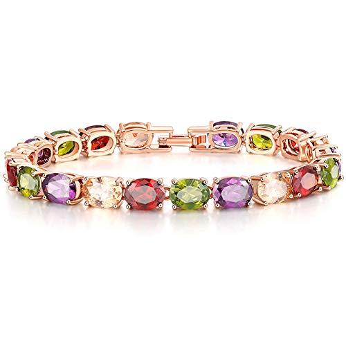 HUSHOUZHUO Kristall Quadrat Braut Armbänder Für Frauen Großhandel Hochzeit Schmuck Armbänder Zubehör (Großhandel Hochzeit Zubehör)