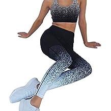 Dihope, Femme 2 Pièces Survêtements Ensemble Soutien-Gorge Imprimé Pantalon  Casual Legging Crayon Slim 82b4094331ce