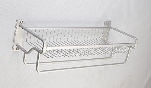 SAEJJ-Spazio in alluminio con doppia bocce asciugamano
