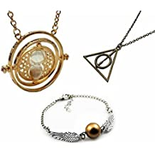 Chamber37-Harry Potter Gira-tiempo Hermione,Reliquias de la Muerte/Snitch