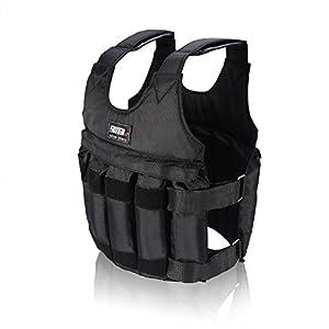 yosoo 20/50kg-Ladekabel Damen-Weste Übung Boxen Training Gewicht Gewichtsweste Verstellbar