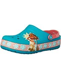 crocs Lights Moana Girls Clog in Multi Color