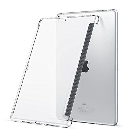 iPad Pro 10.5 Hülle, ESR Transparent Hart Rück Hülle [Perfektes mit Smart Tastatur Kombination] Slim Fit Rücken Shell Cover Case für iPad Pro 10,5 Zoll (Weiss)