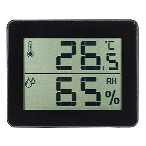 MeterMall nützlich für TS-E01 Digitales Display, Haushaltsthermometer, Hygrometer, Innenthermometer, Komfort-Anzeige
