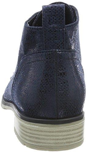 Marco Tozzi 25128, Stivali Chukka Donna Blu (Navy Metallic)