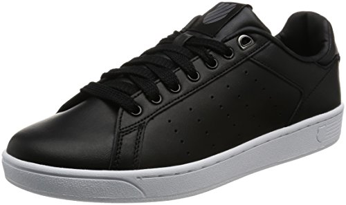 k-swiss-clean-court-cmf-sneakers-basses-homme-noir-black-white-42-eu