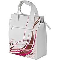 M Wave Amsterdam Borsa Stile Corriere unico, unisex, Amsterdam Style, White/Pink, N/A