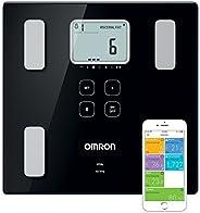 OMRON VIVA Bilancia smart e misuratore della composizione corporea Bluetooth con calcolo di grasso corporeo, p