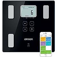 OMRON VIVA Báscula de Composición Corporal Inteligente, Bluetooth con APP OMRON Connect, Precisión validada clínicamente