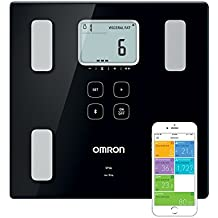OMRON VIVA Bilancia Diagnostica Smart, Bluetooth, App OMRON Connect, Dispositivo Medico Clinicamente Validato, Nero