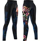 Smmash CrossFit Compression Damen LEGGINGS LANG MUERTE (M)