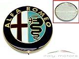 Alfa Romeo 156 166 Heckemblem - Reparatur Kit - Modellzeichen zum überkleben - Aufkleber für 60777672