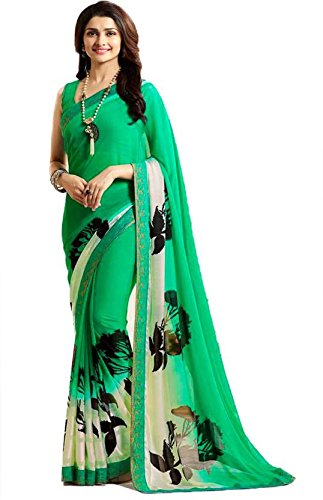 Magneitta Women's Clothing Saree Collection in Multi-Colored Georgette For Women Party Wear,Wedding...