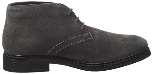 Lumberjack Herren William Combat Boots Grigio (Dk Grey)