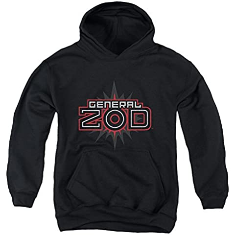 Superman - - La juventud Zod logotipo de la sudadera con capucha