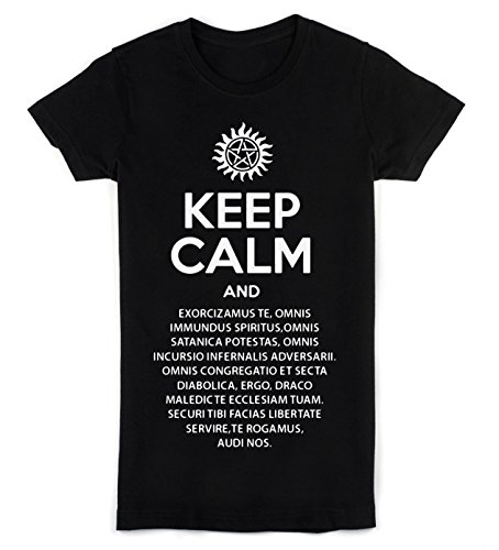 keep-calm-and-perform-exorcism-womens-t-shirt-small