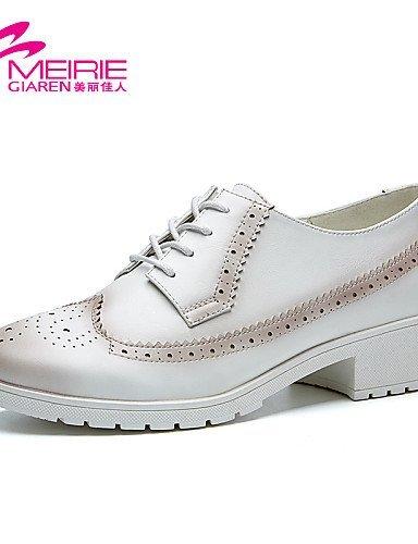 ShangYi Damenschuhe - Sportschuhe - Lässig - Denim Jeans - Blockabsatz - Rundeschuh / Geschlossene Zehe - Schwarz / Weiß / Grau Black