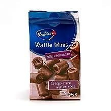 قطع وافل صغيرة بالحليب والشوكولاته من باهلسن - 100 غرام