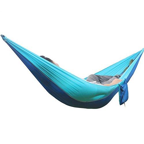 Nimble House ® ™ Ultralight strong Portable Nylon Parachute S Hooks Hammock...