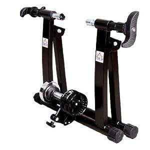 Rodillo Entrenamiento Bicicleta Acero Cicloentrenador Negro Bici Interior Ciclismo…