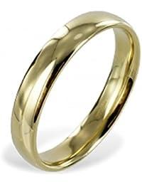 2e8d9f0ae17a ASS 333 Oro amarillo Talla 17 (54) Mujer Hombre Amistad Anillos de  Compromiso Anillo Partner Anillo Anillos alianzas…