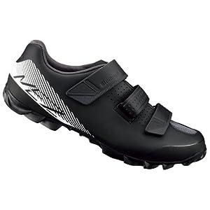 Shimano SHME2PG420SL00 - Zapatillas Ciclismo, 42, Negro - Blanco, Hombre