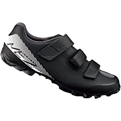 SHIMANO SHME2PG430SL00 - Zapatillas Ciclismo, 43, Negro - Blanco, Hombre
