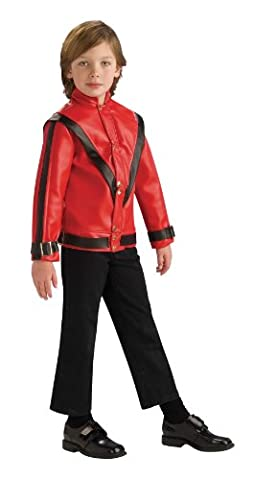 Michael Jackson Deluxe Thriller Jacket Halloween Costume - Child Size Small 4-6