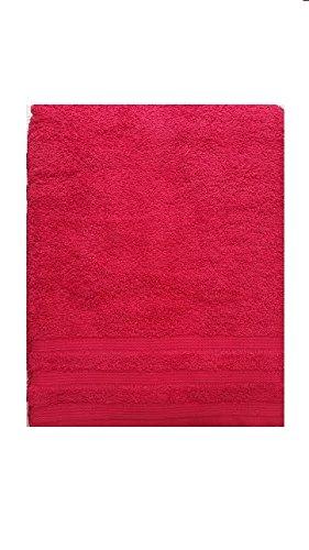 Set Asciugamani Bagno Telo Viso e Ospite 1+1 in Spugna 100% cotone Bassetti (Rosso)