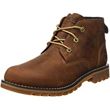 Timberland Men's Larchmont Waterproof Chukka Boots, Md Brown Full Grain, 12.5 UK 47.5 EU
