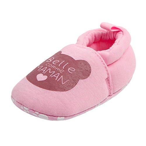 manadlian Chaussures Bébé,pour 3-12 Mois Bébé Beaux Enfants en Bas âGe Chaussures de BéBé Marchettes