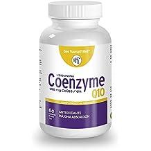 Coenzyma Q10 SYW (120 cápsulas). 100 mg de Kaneka Ubiquinona. Antioxidante. Mejora la salud cardiovascular y aumenta tus niveles de energía