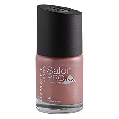 Rimmel Nail Polish Salon Pro 12ml In The Pink 619
