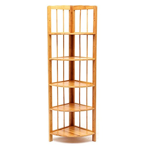Shoe rack LVZAIXI Bambus Vertikale Lagerung Display Bücherregal Bücherregale Küche Regale Badezimmer Ecke Regal Ca. (Größe : 30*135cm) (Display-regal Bücherregal)