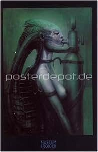 Poster h.r. giger biomechanoid