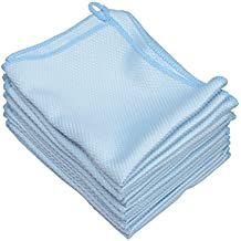 "mfh-d 12pcs 12""x16"" paño de microfibra Juego de toallas para platos vasos coche windows Espejos pantalla de ordenador TV tabletas cámara"