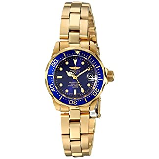Invicta 8944 Pro Diver Reloj para Mujer acero inoxidable Cuarzo Esfera azul
