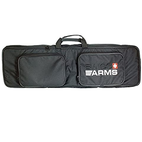 Swiss Arms Tactical Rifle Bag 100x30cms Black Airsoft